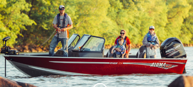 We are also an Alumacraft Dealer providing boats like jon boats and aluminum boats with outboard motors.
